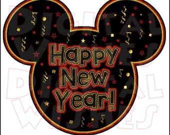 Disney new year   Etsy
