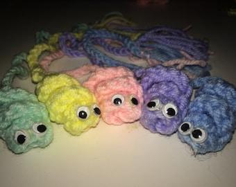 Crochet bookworms