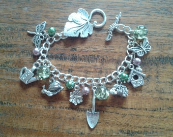 Gardening Charm Bracelet