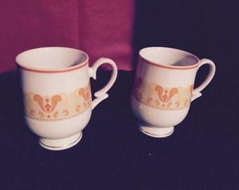 Fine Coffee/Tea Cups; Transluscent Porcelain Royalton china tea/Coffee cups