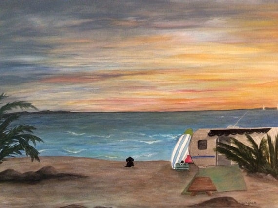 Dog Days On The Shore. Airstream Camping at the by InteriorFun