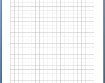 A5 grid paper 20 sheet