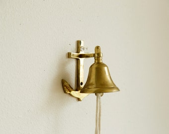 Wall Mounted Bell Etsy