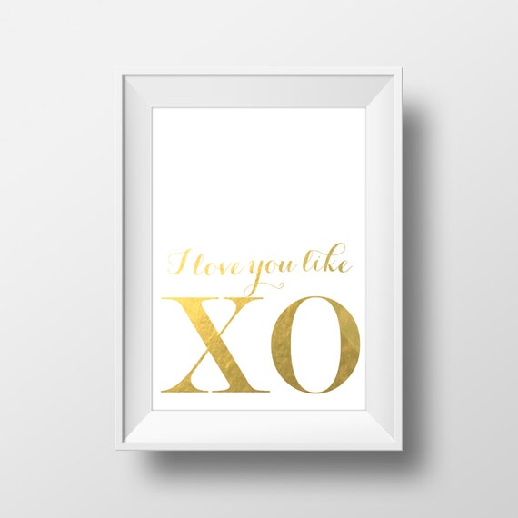 I Love You Like Xo Quotes : Print Love You Like XO Song Lyrics Yonce Flawless Inspirational Quote ...