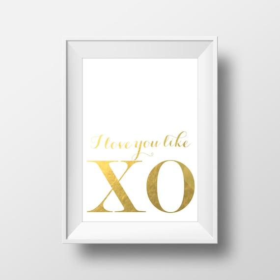 Print Love You Like XO Song Lyrics Yonce Flawless Inspirational Quote ...