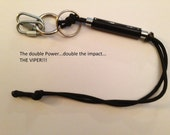 2 Pack Of The Viper Survival Sharp Shooter Keychain with 2 free instruction DVDs