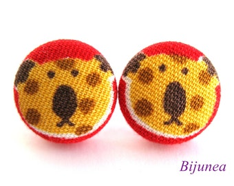 Tiger earrings - Orange tiger earrings - Tiger studs - Tiger posts - Tiger stud earrings - Tiger post earrings sf822