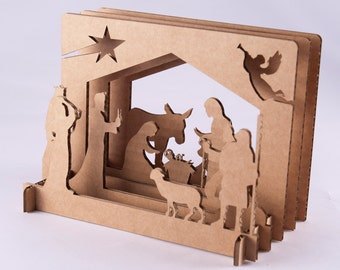 Bethlehem's Christmas HELAM of minimalist design
