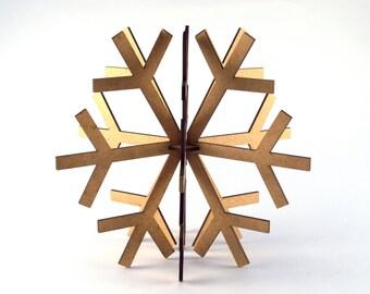 Snowflake ornament 3D