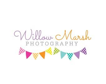 Premade Custom Logo - WILLOW MARSH - Premade Logo, Photography Logo, Logo Design, Logo Branding, Photographer Logo, CharlisWeb