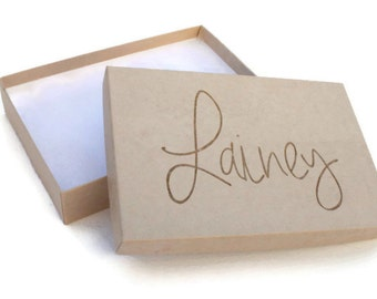 Custom Gift Box | 100% Recycled Content