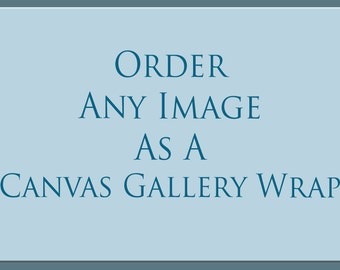 Order Any Photo as Canvas Gallery Wrap, Canvas Photo Print, Large Canvas Wall Art, Bedroom Decor, Stretched Canvas, Landscapes, Dallas, TX