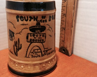 Vintage South of the Border Mug/ Stein