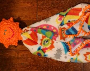 Baby Saftey Blankey--Various Stuffy Designs