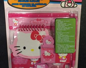 Hello Kitty Novelty Stationery Set, Hello Kitty, Pink Hello Kitty Set, Gift for Girls, Birthday Gift Ideas, 1 Set