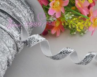 25y Silver Color Ribbon Wedding Party Supply Decoration DIY Crafts