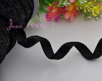 25y Black Color Ribbon Wedding Party Supply Decoration DIY Crafts