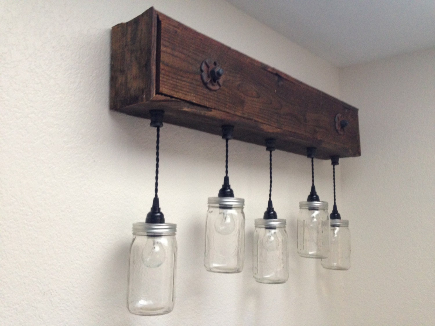 Vanity Lights Pics : Rustic Vanity Light