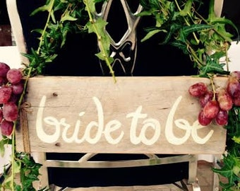 Single Custom Rustic Hand Painted Sign, Wedding Sign, Wedding Shower Sign, Baby Shower Sign, Birthday Sign, Date Sign, I Do, We Did