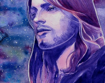 David Gilmour - Pink Floyd - Watercolor