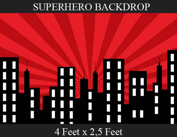 images for superhero city background template. Black Bedroom Furniture Sets. Home Design Ideas