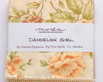 Dandelion Girl by Fig Tree Quilts for Moda OOP VHTF