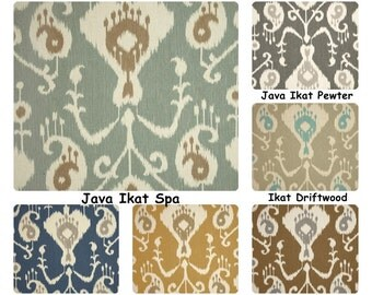 Ikat curtains Rod pockert curtains drapery panels custom drapes window treatment long curtains custom drapery panels
