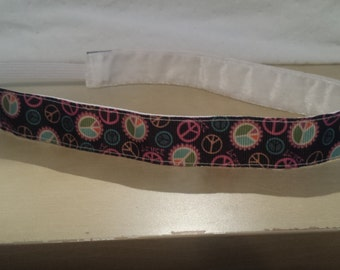Peace Sign NonSlip Headband