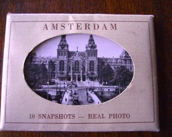 Vintage Souvenir Snapshots of Amsterdam