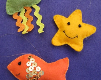 Sea creatures sewing kit