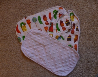 The Very Hungry Caterpillar Bib and Burp Cloth Set