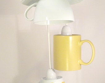 Tea and Coffee Cup Ceiling Light