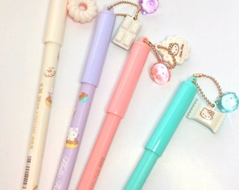 Dessert Time Pens with Charms