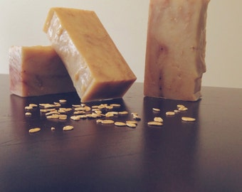 Oatmeal Cocoa w/ Shea**** All Natural, Vegan, Handmade Soap