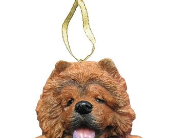Chow Chow Ornament With Personalized Name Plate A Great Gift For  Chow Chow Lovers