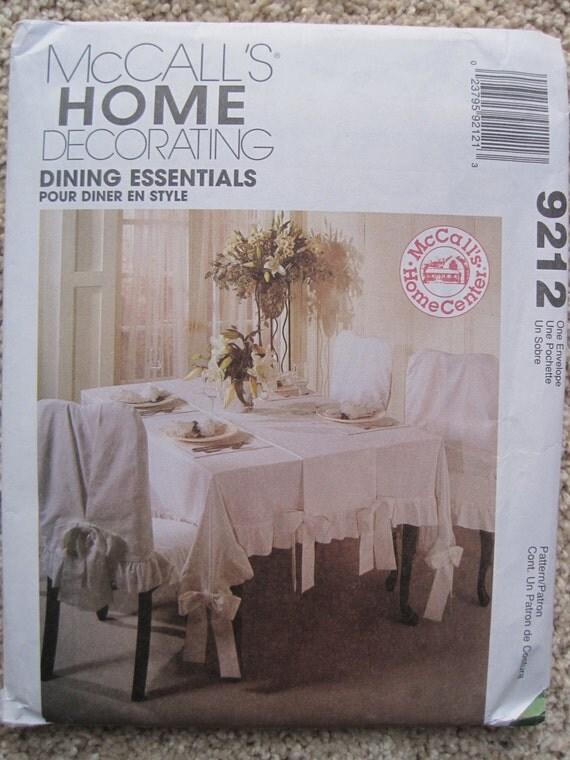 UNCUT Dining Essentials Tablecloth Table Runner Chair  : il570xN68432647564l8 from www.etsystudio.com size 570 x 760 jpeg 95kB