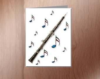 Oboe Note Cards