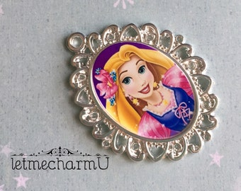 Disney Princess Rapunzel Pendant - Disney Princess Rapunzel Necklace - Rapunzel Necklace - Rapunzel Jewelry - Tangled Necklace