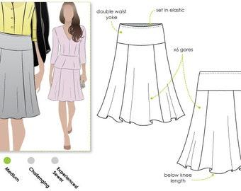 Gorgeous Gore Skirt - Sizes 16, 18 & 20