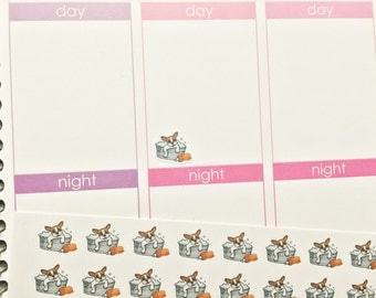 30 Dog Bath Time/Dog Grooming Stickers! Perfect for your Erin Condren Life Planner, Filofax, Plum Paper & other planner or scrapbooking!
