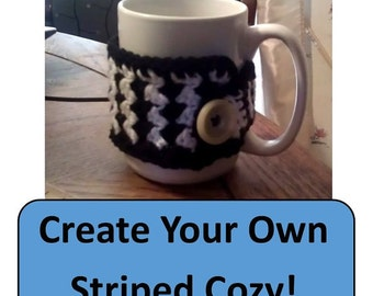 Get Creative! Striped Cozy