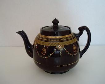 Antique H. J.  Wood Burslem Teapot