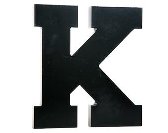 """Vintage Letter """"K"""" Acrylic Sign Letter"""