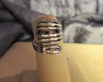 Adjustable Vintage Spoon Ring. Item:R818389