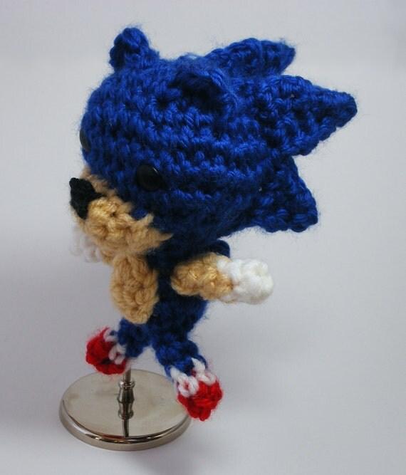 Sonic the Hedgehog Cute Crochet Plush Chibi Amigurumi