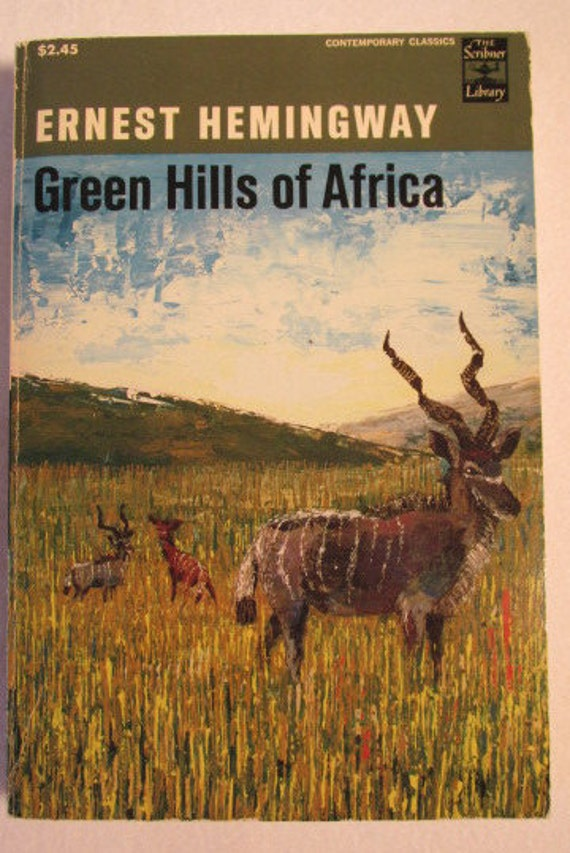 research paper on green hills of africa by ernest hemingway