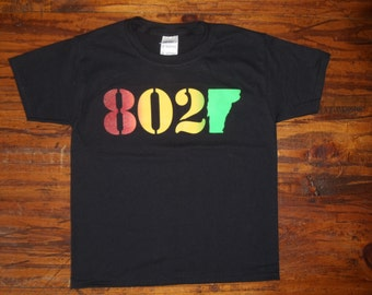 Kids & Toddler Vermont 802 Classic T-Shirt - Vermont Shirt - 802 Shirt - Vermont Kids clothing - Kids clothes - Kids shirt - vermont kids