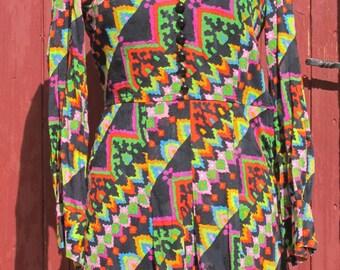 Multicoloured 1970s Jewel