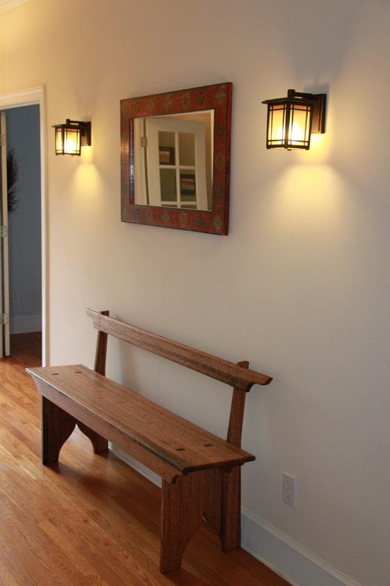 Foyer Seating Year : Shaker hall foyer bench seating