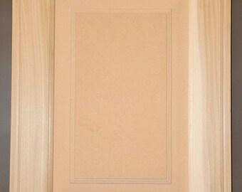 Raised Panel Style Door - Unfinished Paint Grade Cabinet Doors